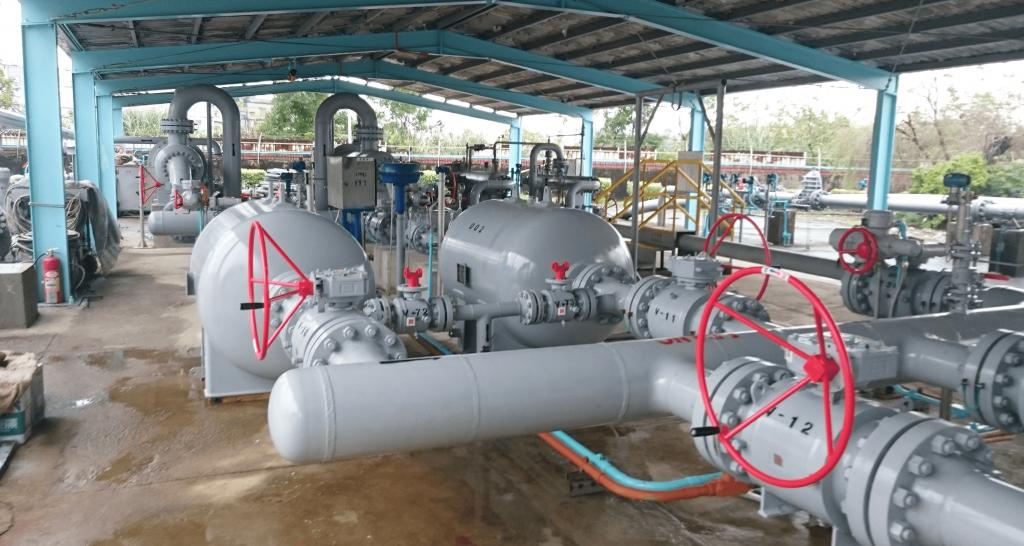 中油-臥式天然氣過濾器