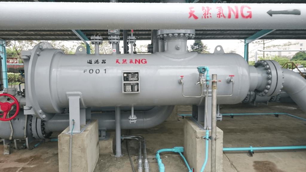 中油-臥式天然氣過濾器-2